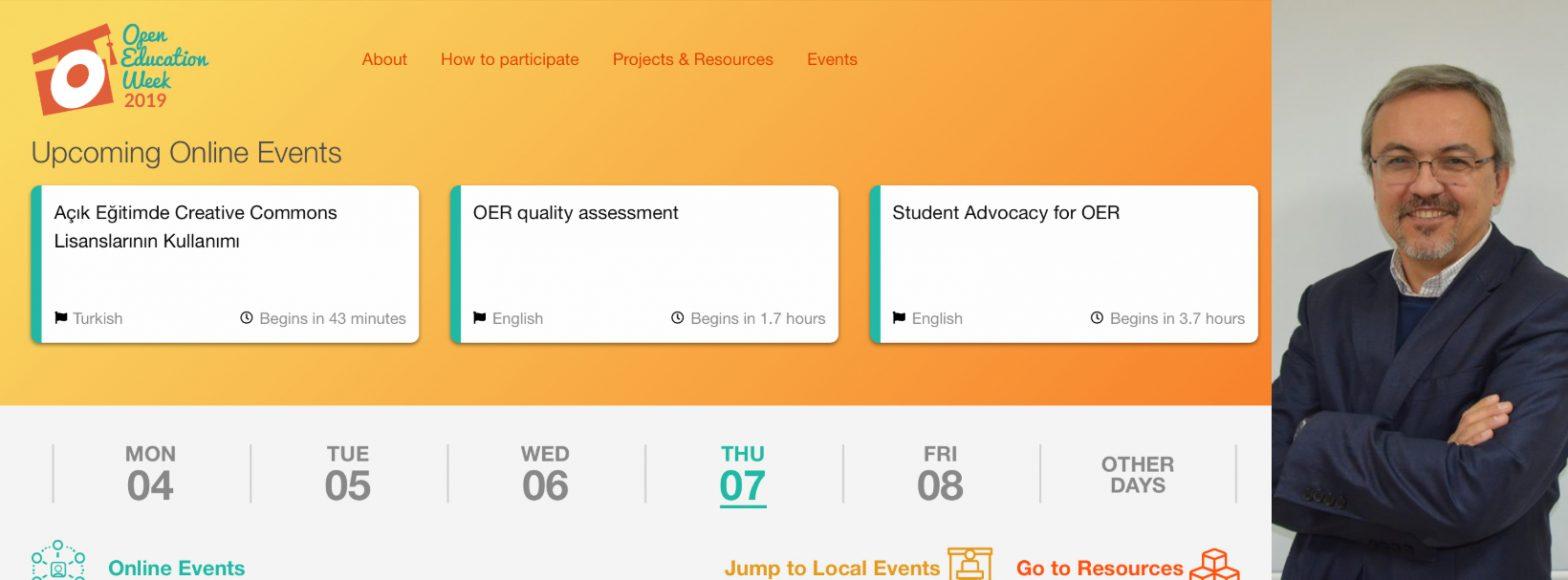 Açık Eğitim Haftası webinarının ardından