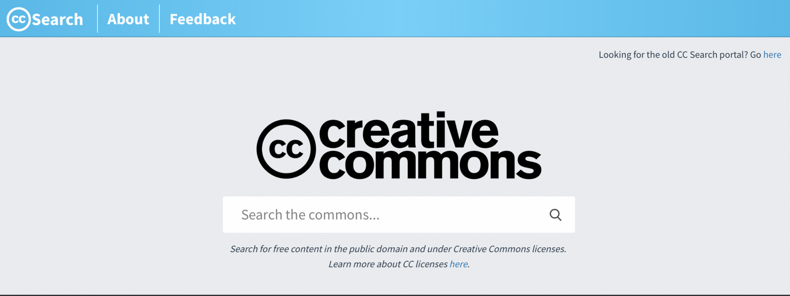 CC Search 300 milyon görsel ile yayında